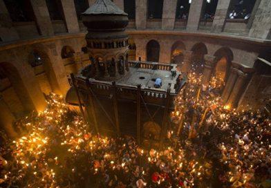Благодатниот оган од Ерусалим вечерва во 22.00 часот  ќе престигне во црквата св.Кирил и Методиј
