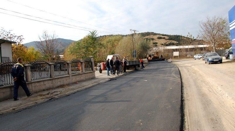 Завршува рехабилитацијата на транзитната делница од регионалниот пат кој што минува низ населеното место Куклиш